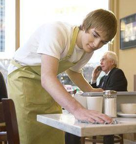 image gallery restaurant busser